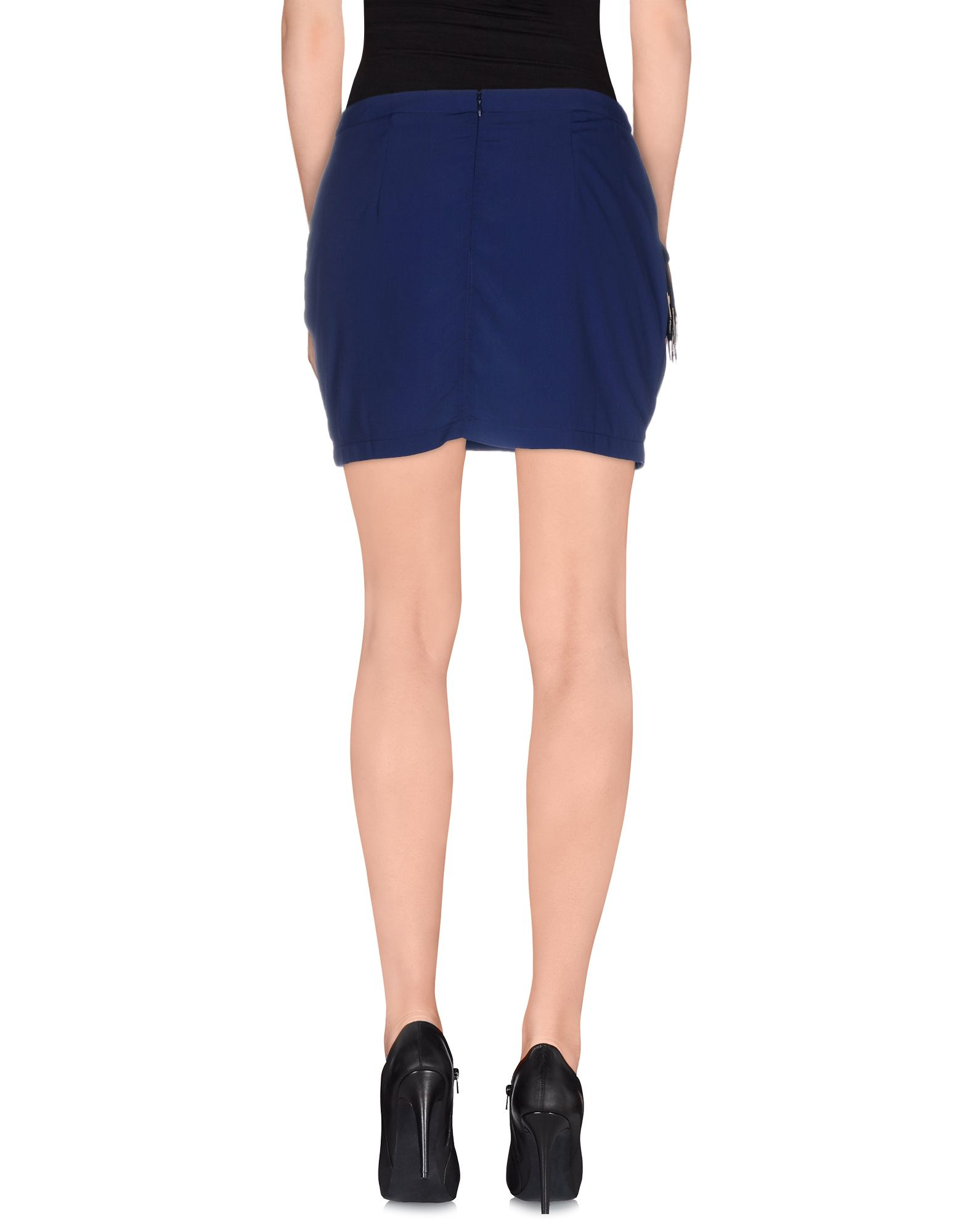 guess mini skirt in blue blue save 43 lyst