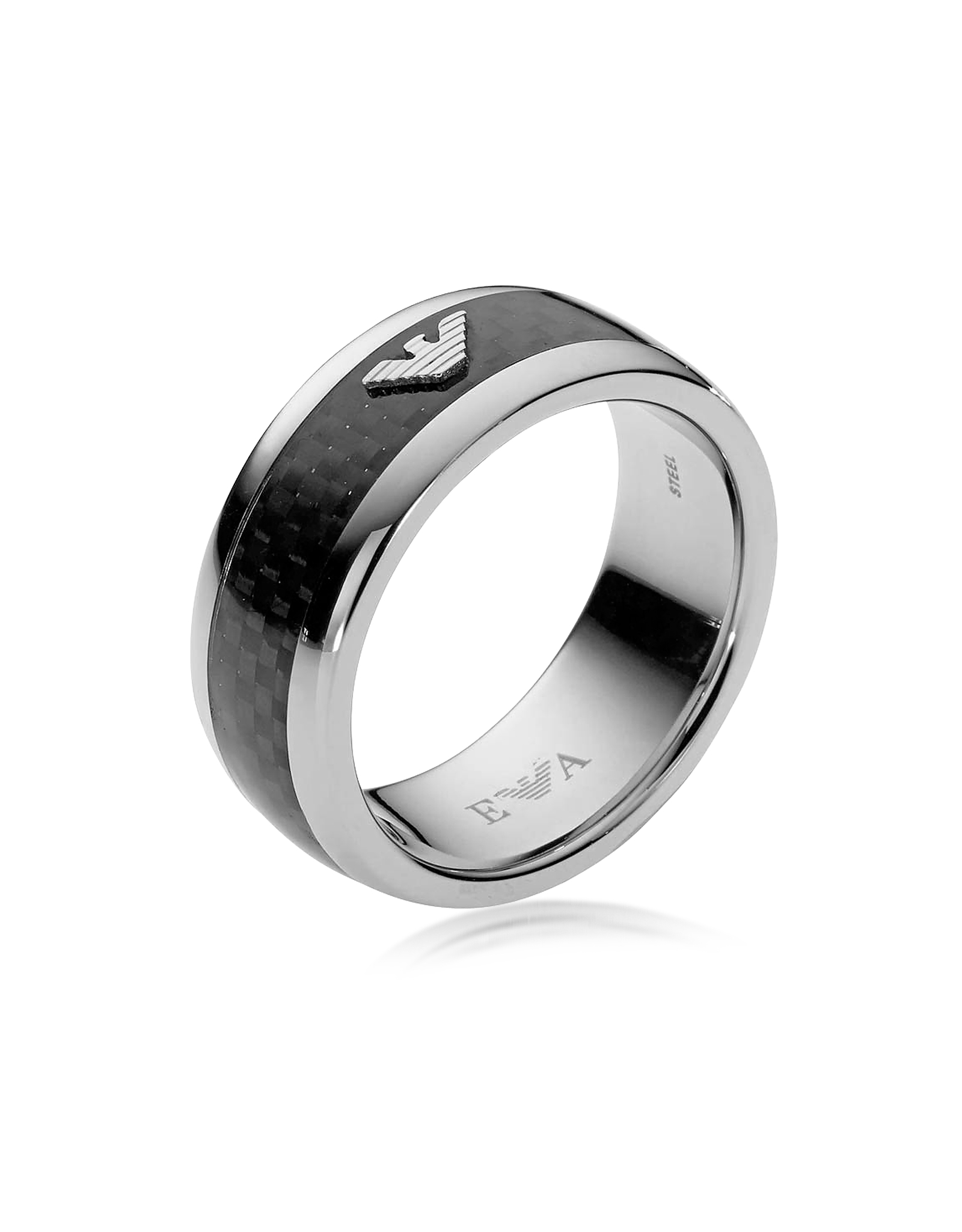 carbon rose beveled fiber inlay com edge plated dp for amazon gold wedding black rings band mnh tungsten men