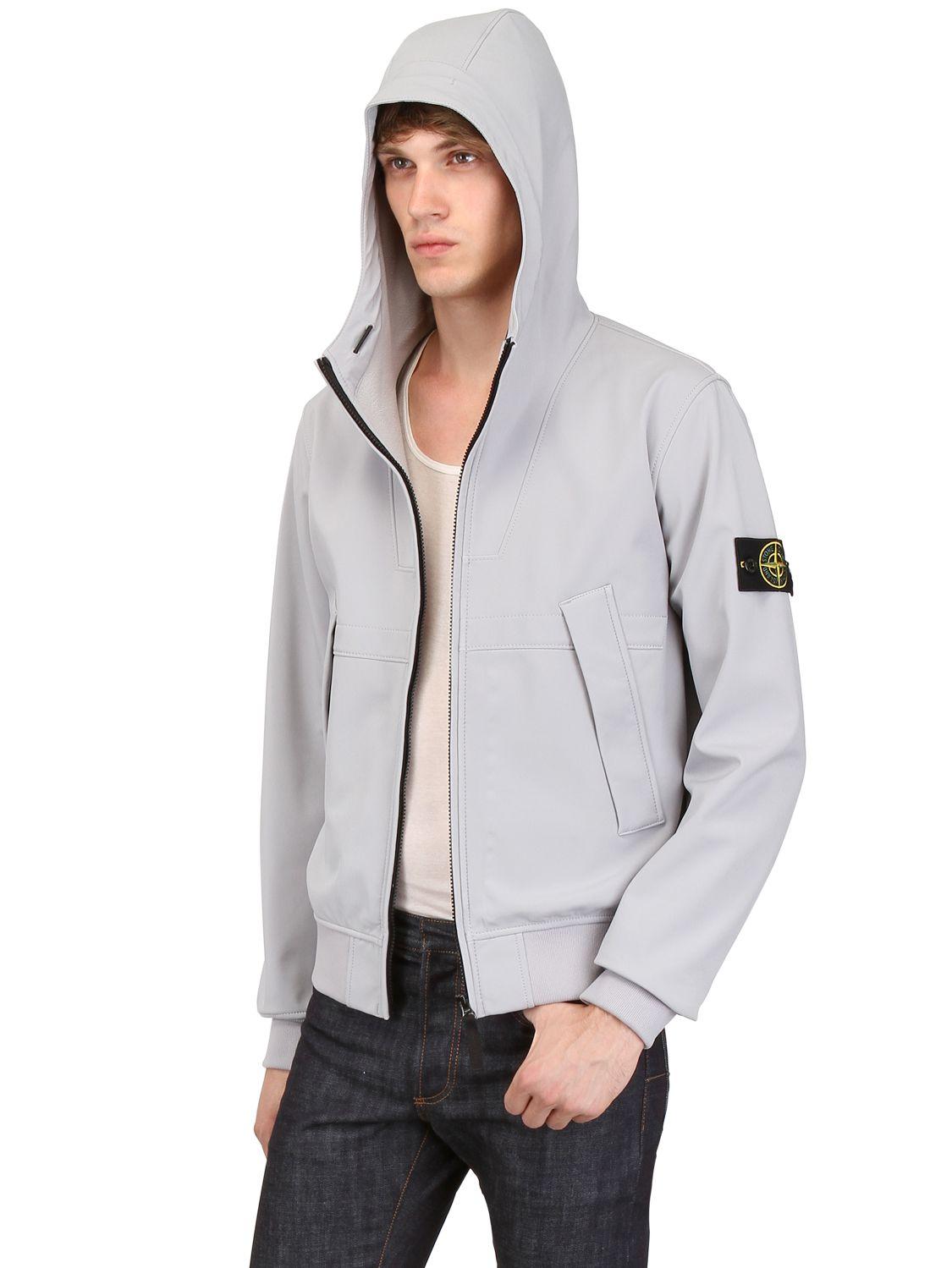 Stone Island Soft Shell Jacket Men S
