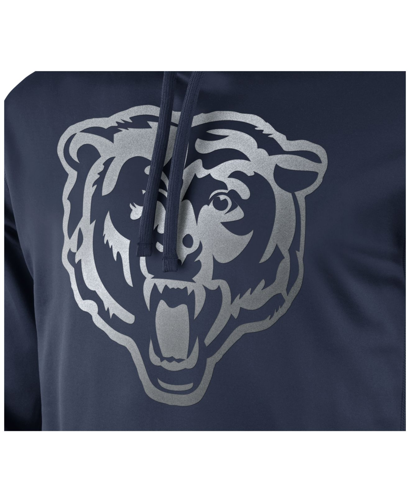 Chicago Bears Nike Kick Off Staff Performance Pullover Hoodie Navy
