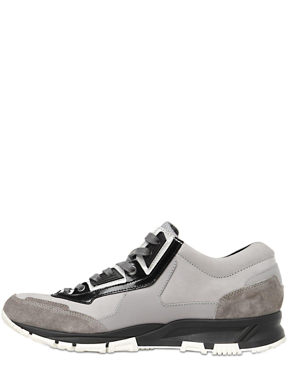 White Running sneaker Lanvin jseeD