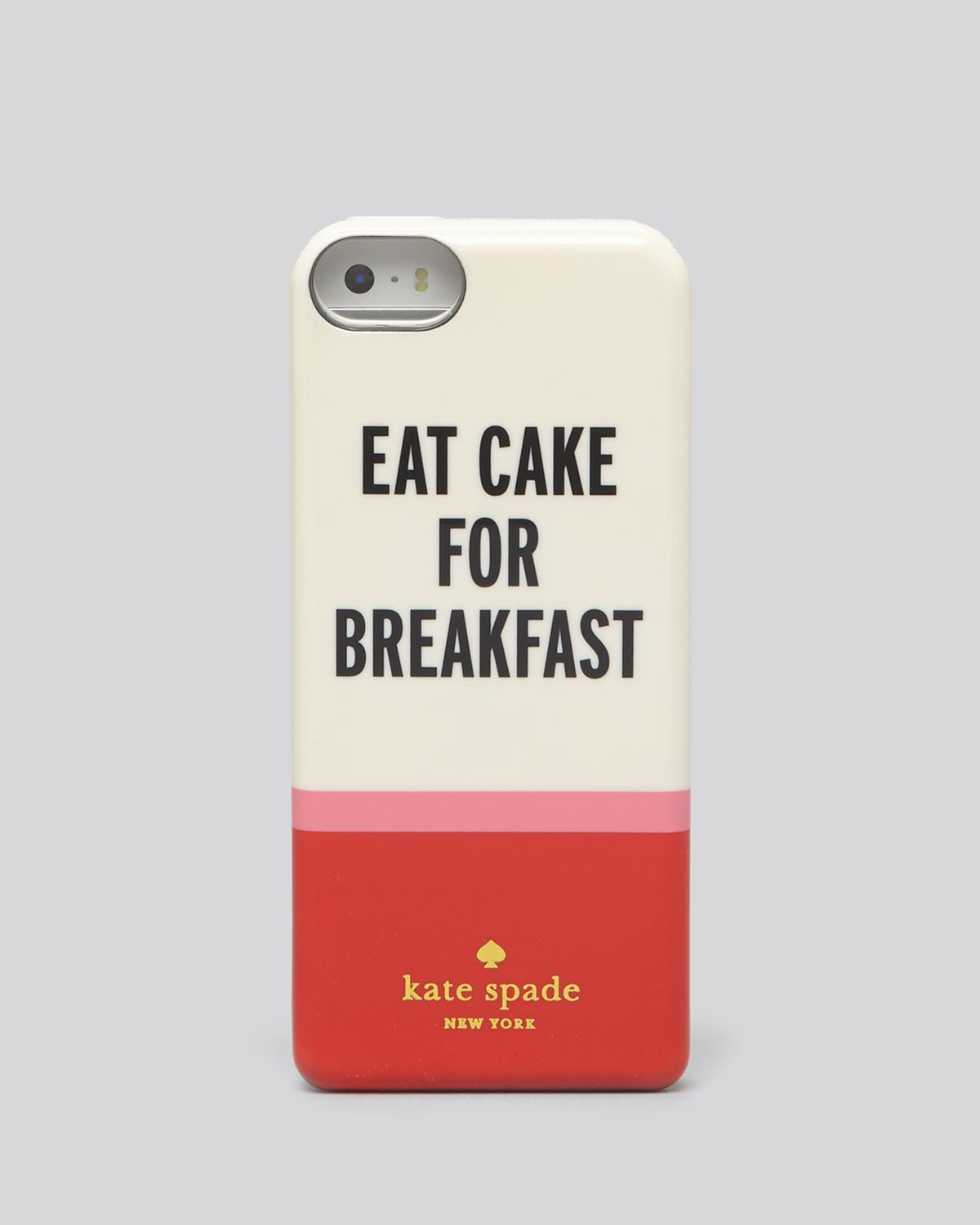 Kate Spade Eat Cake For Breakfast Iphone Case