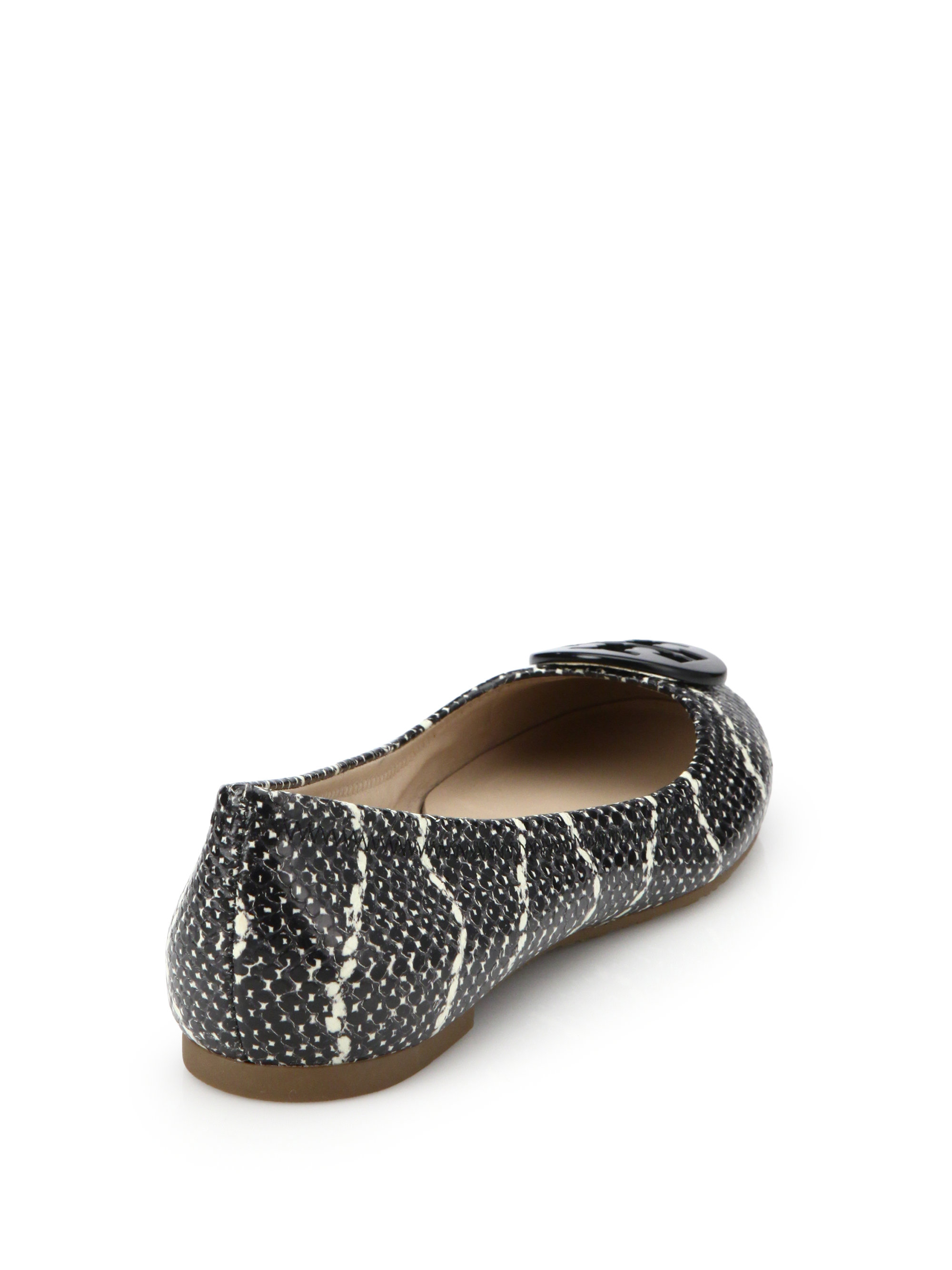 Snake Leather Tory Burch Shoes
