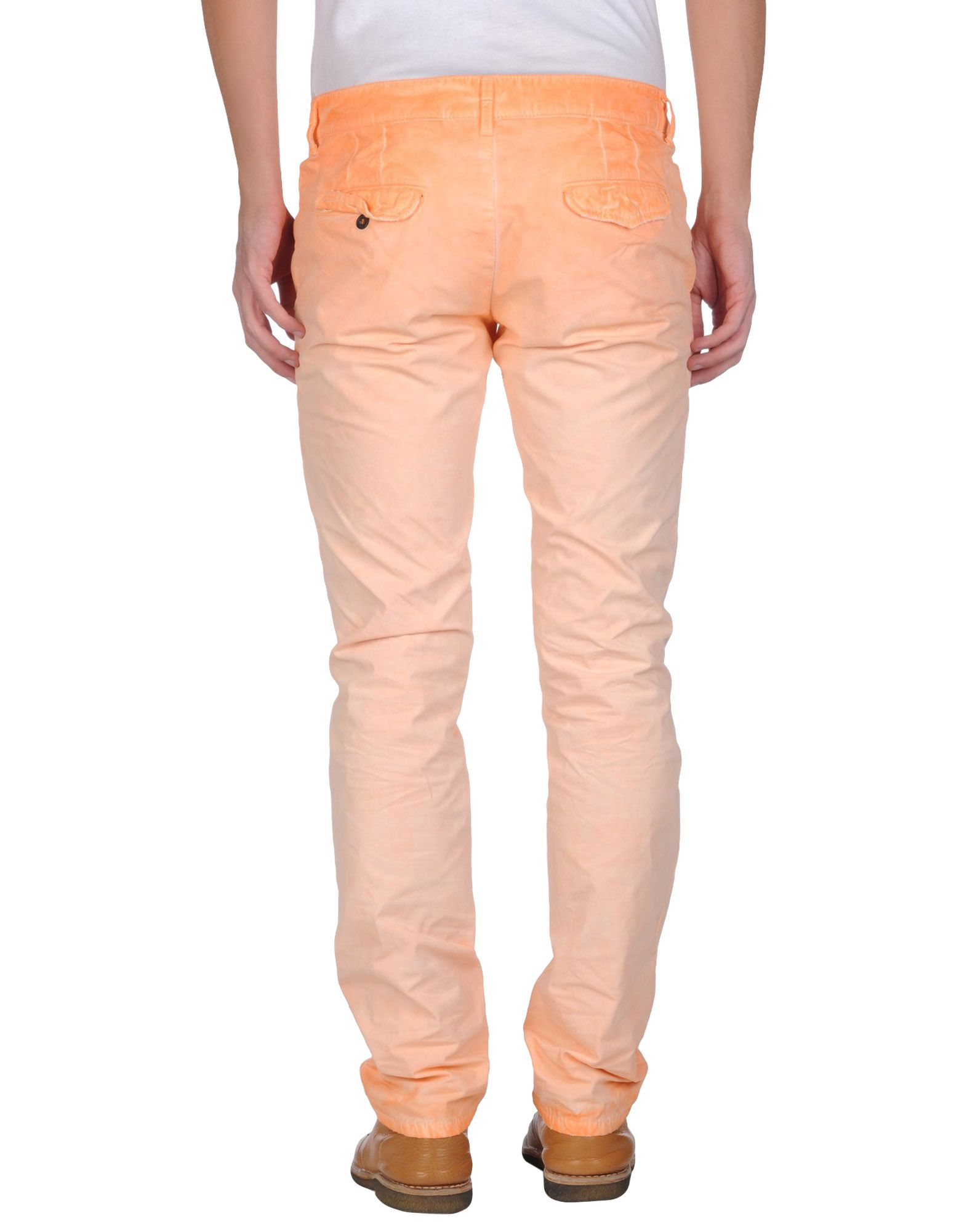 K Chenpantry lyst gilded age casual trouser in orange for