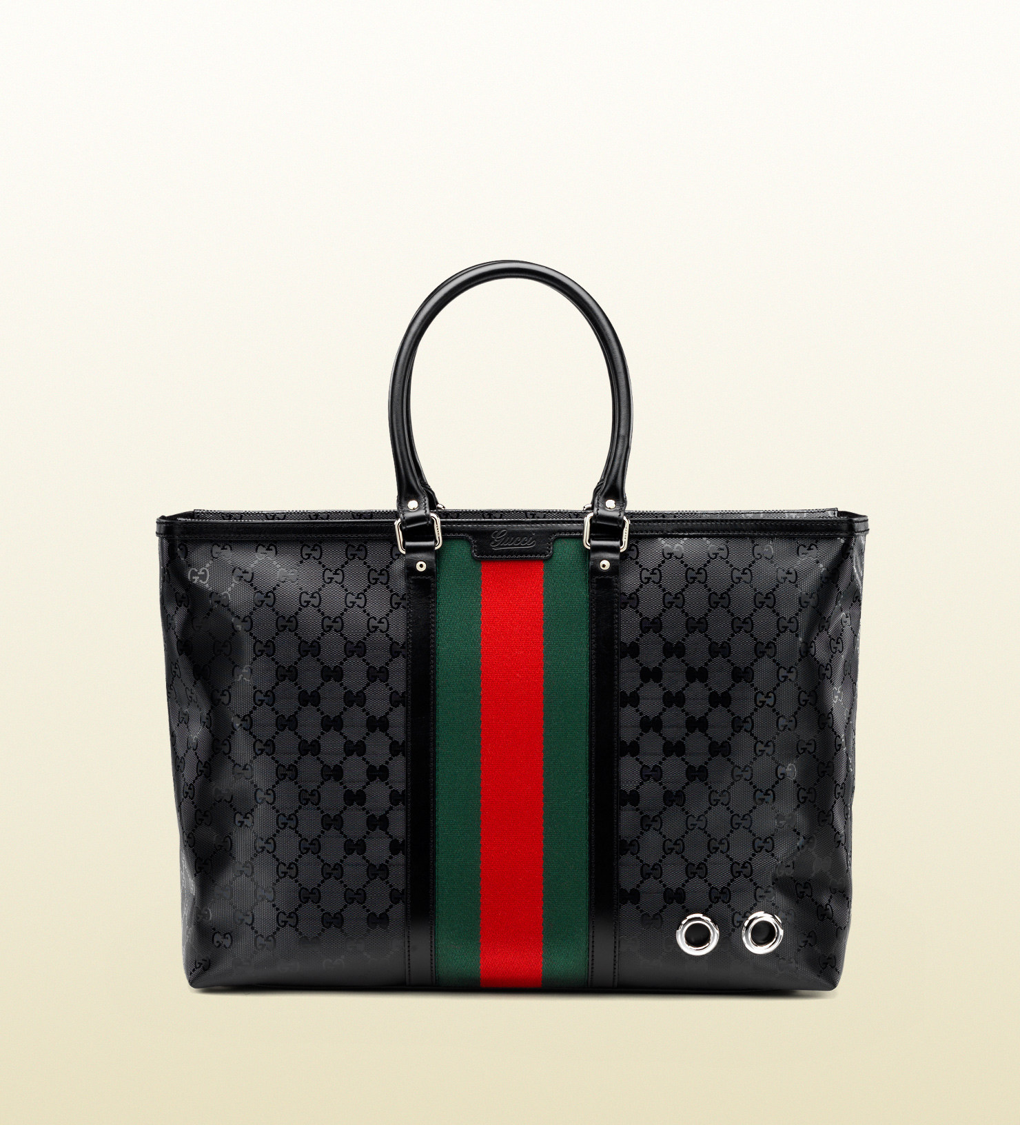 7af3f8dbe0299c Gucci 500 By Gg Imprimé Tote in Black for Men - Lyst