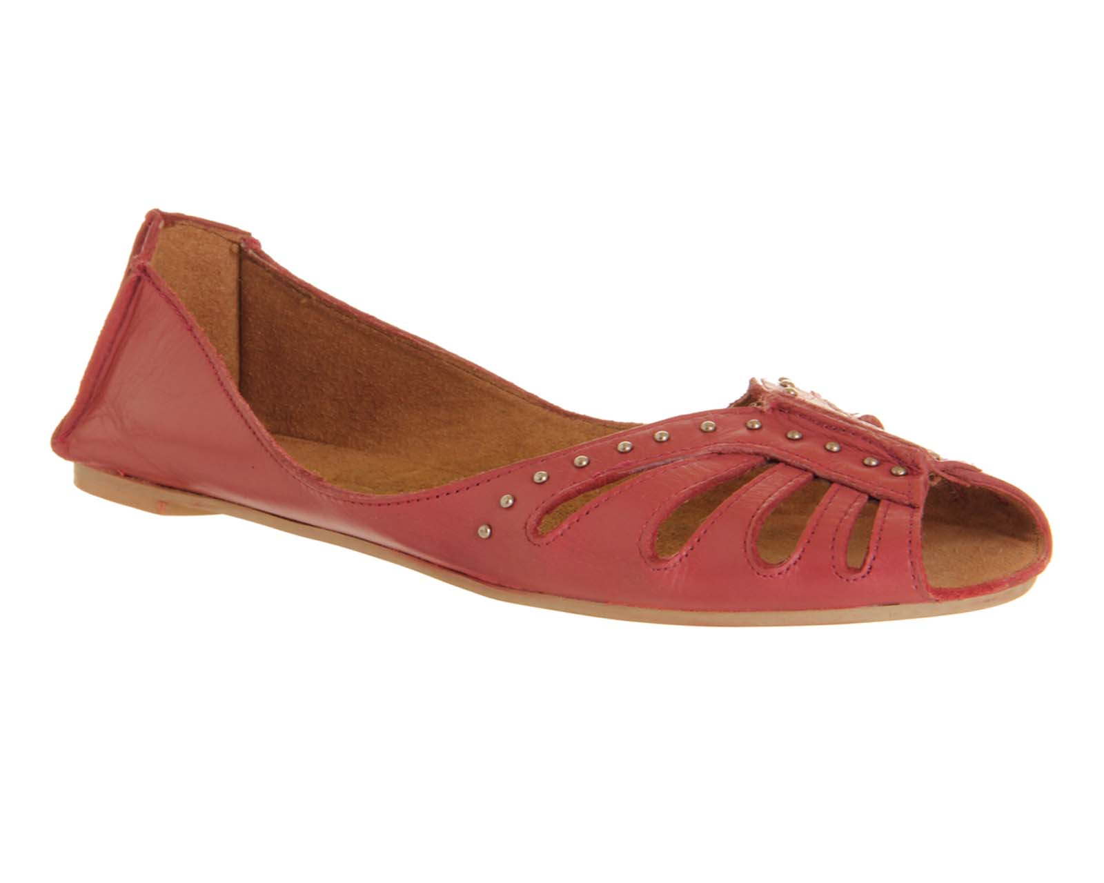 Office Kangaroo Soft Weave Shoe In Pink Lyst