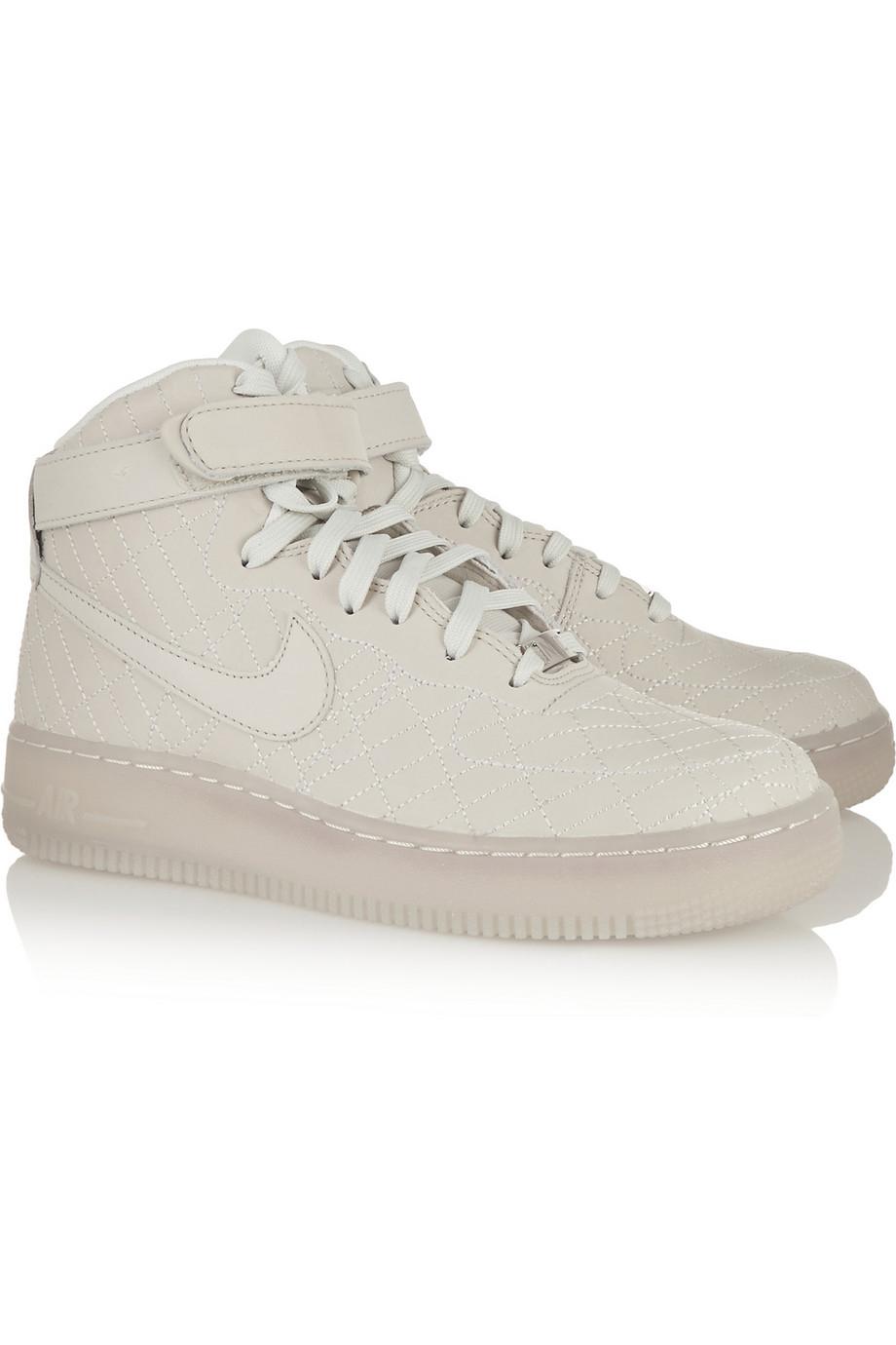 Nike Air Force 1 Nyc Cuir Haut-dessus