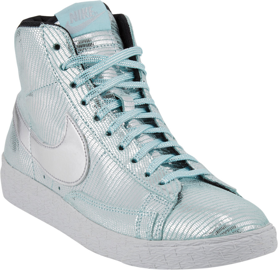 Lyst   Nike Blazer Mid Party Qs Sneakers in Blue Cheapest