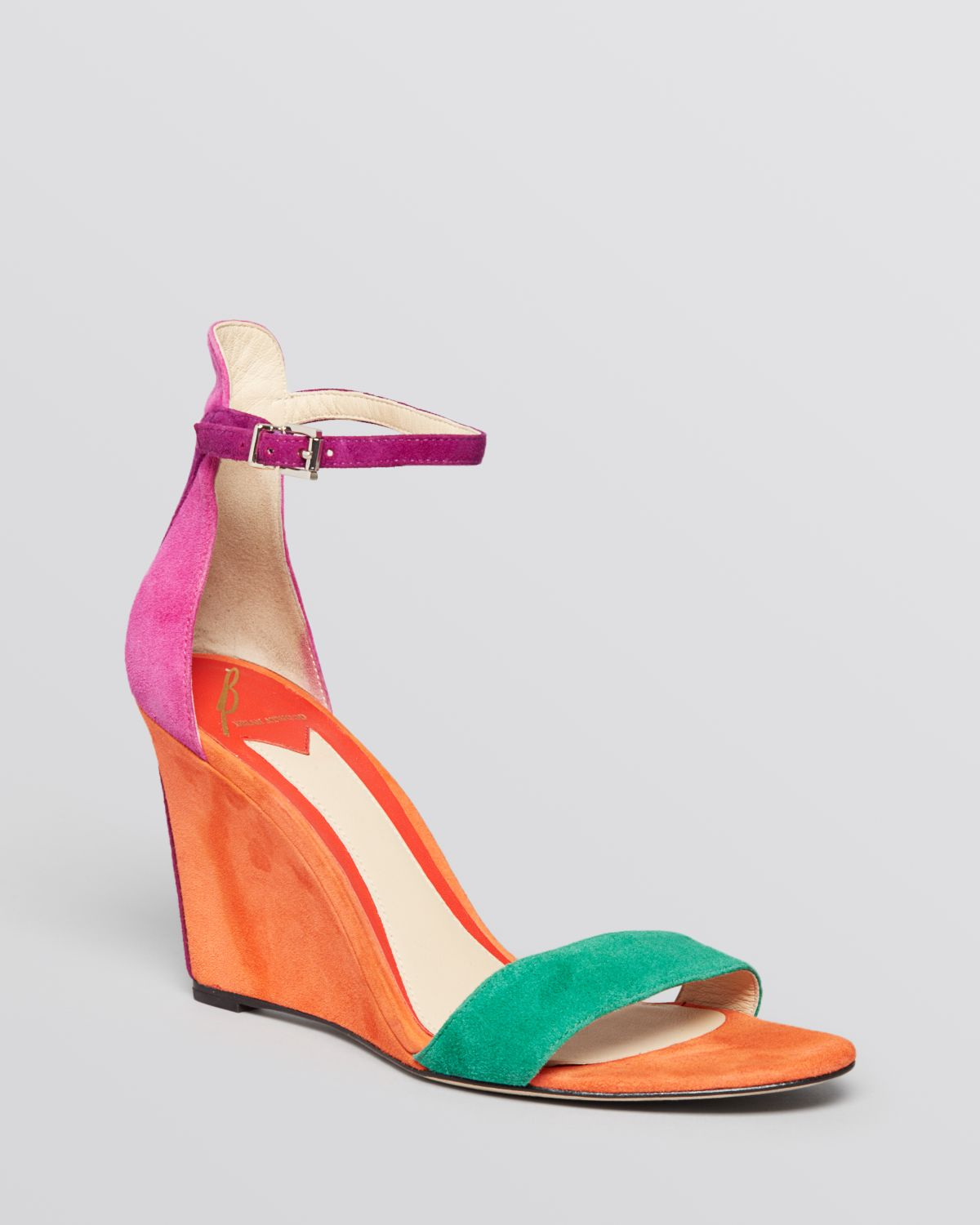 new arrival B Brian Atwood Woven Wedge Sandals outlet new arrival cheap visa payment sale prices fast delivery gSZfWt