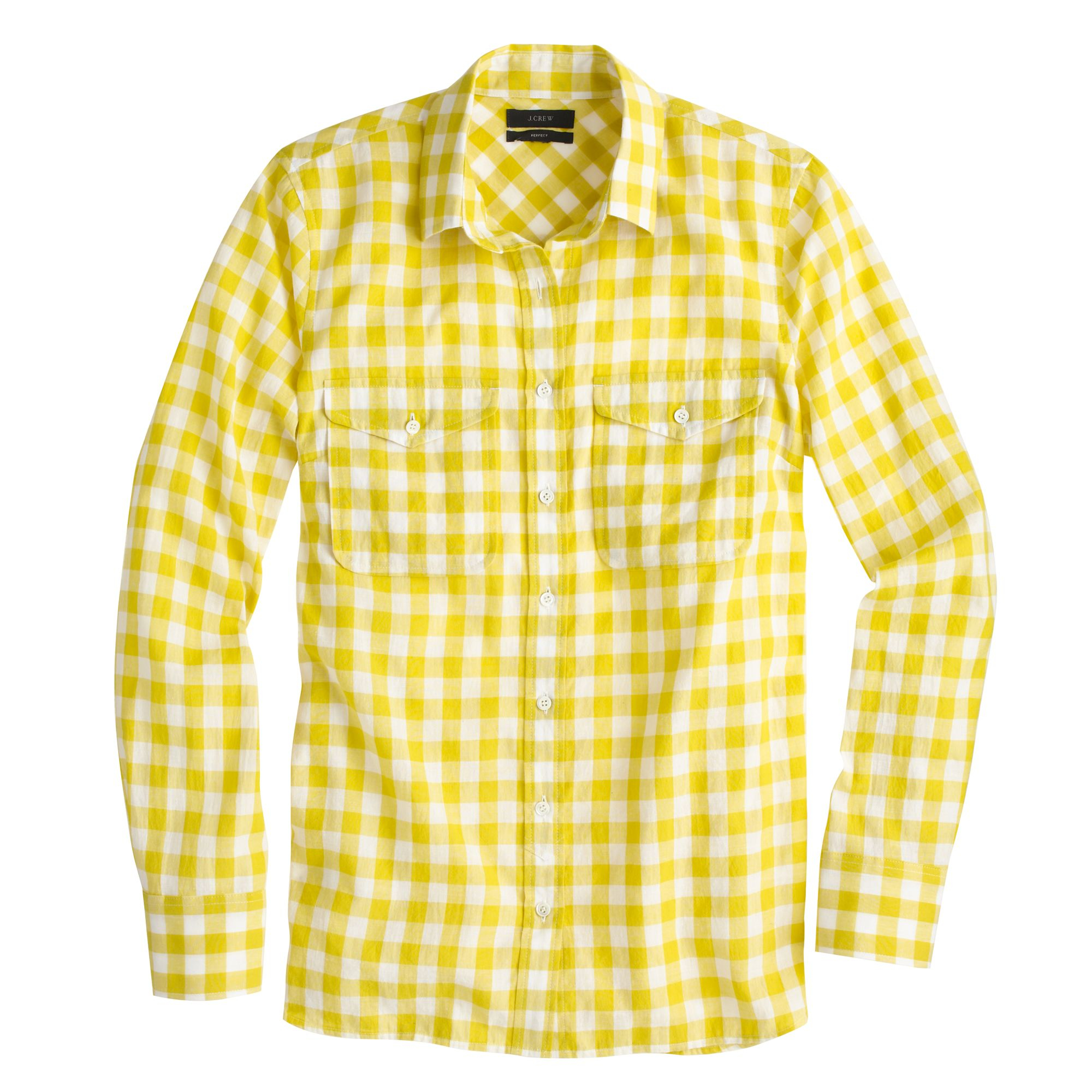 Yellow gingham mens dress shirt dress blog edin for Mens yellow gingham shirt