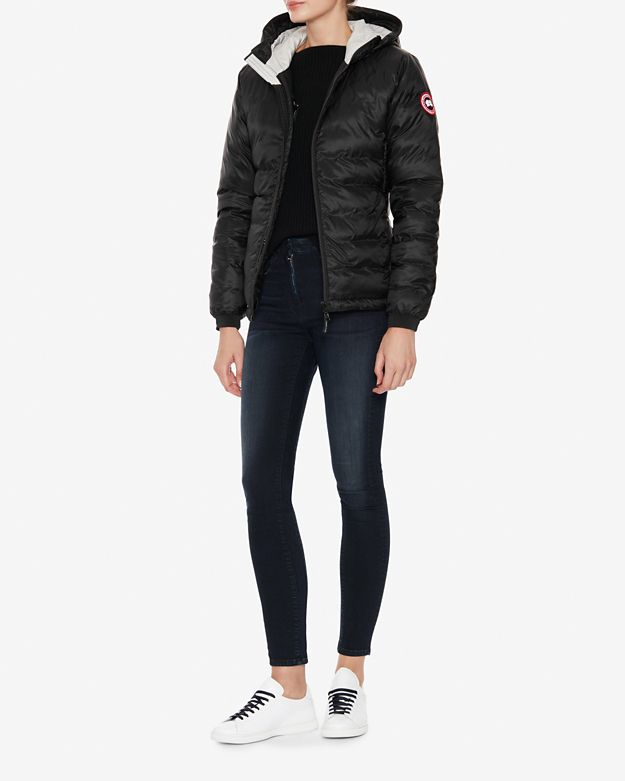 Canada Goose toronto outlet fake - Canada goose Camp Short Hooded Jacket: Black in Black | Lyst