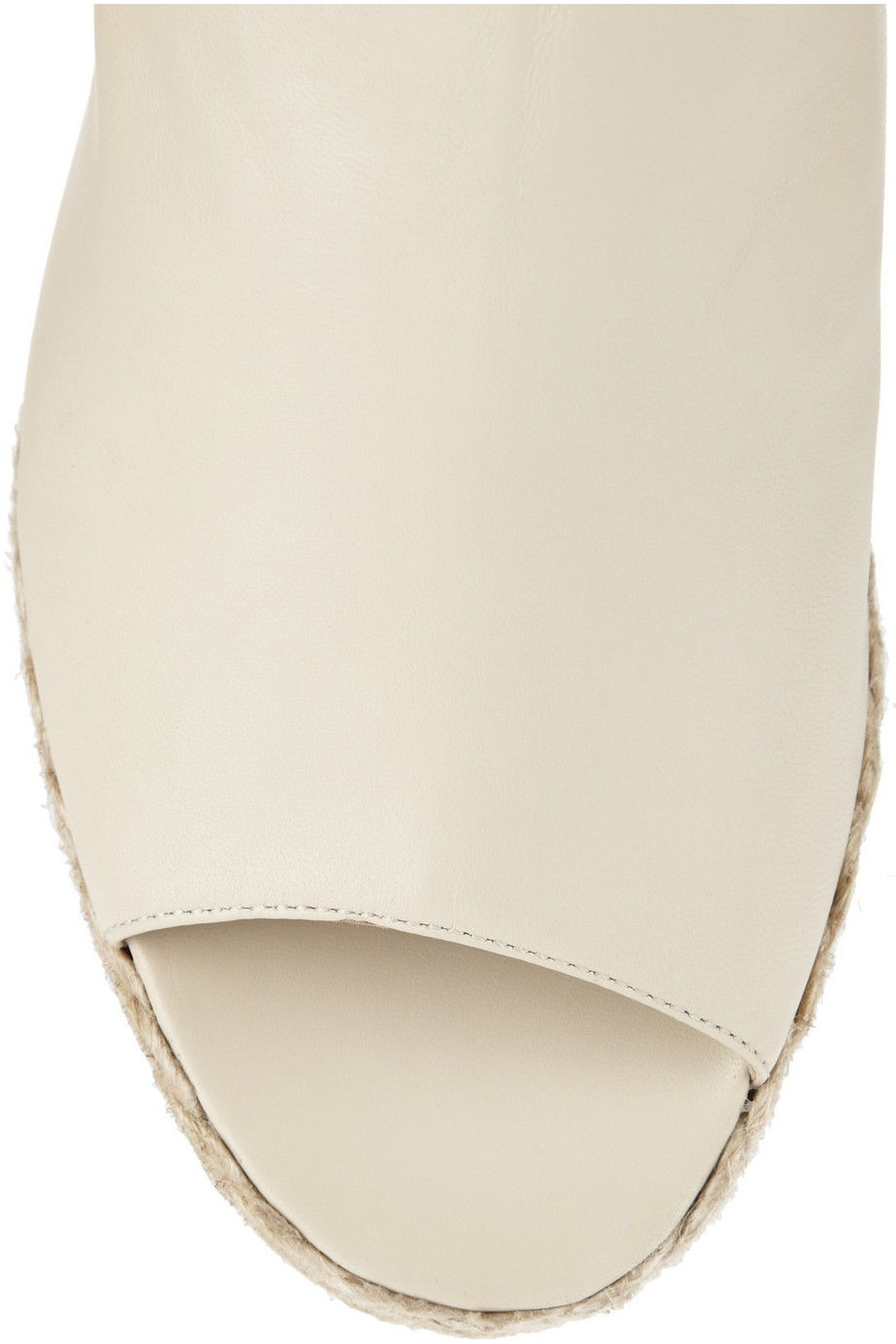 Gayle Porter >> Lyst - Paloma Barceló Leather Espadrille Mules in Natural