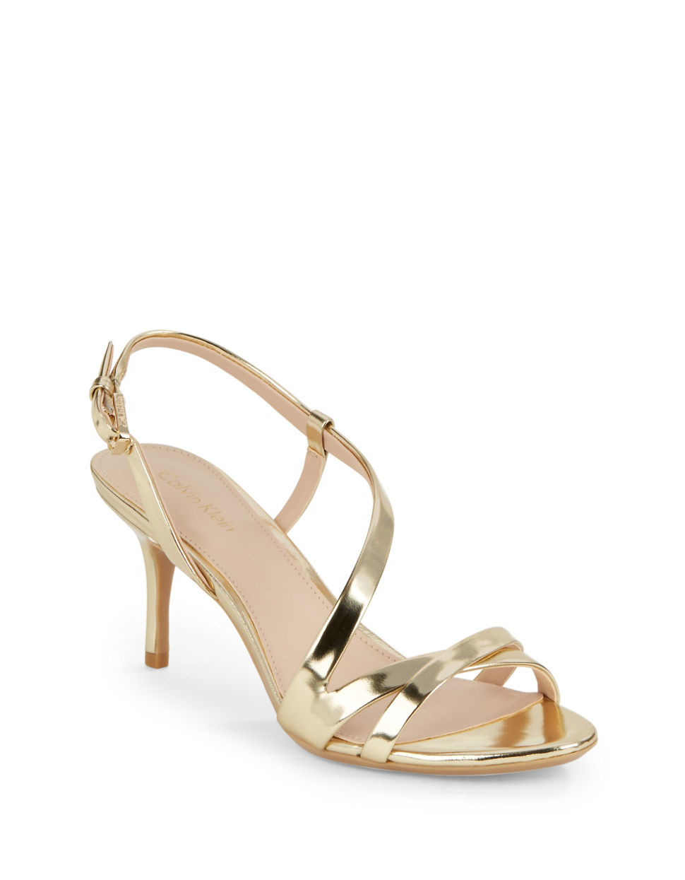 Metallic Sandals Calvin Klein 5PIMUAxv