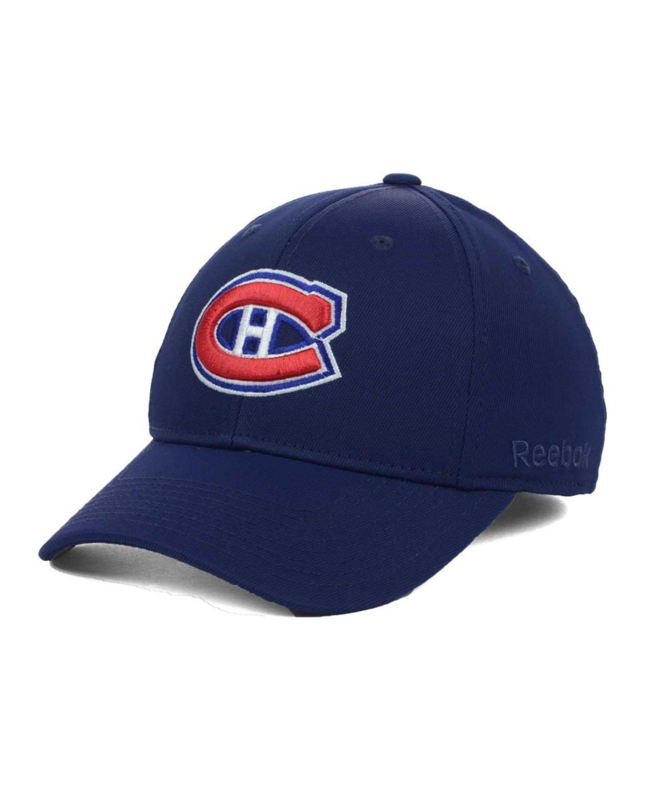 6085ae67a56 Lyst - Reebok Montreal Canadiens Hat Trick Cap in Blue for Men