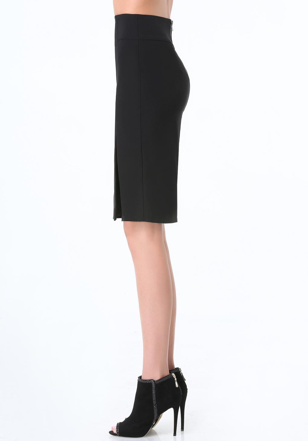 bebe josie pencil skirt in black lyst