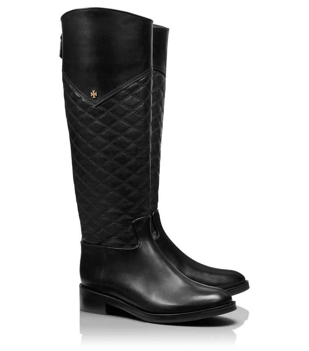 Lyst Tory Burch Claremont Tall Boot In Black