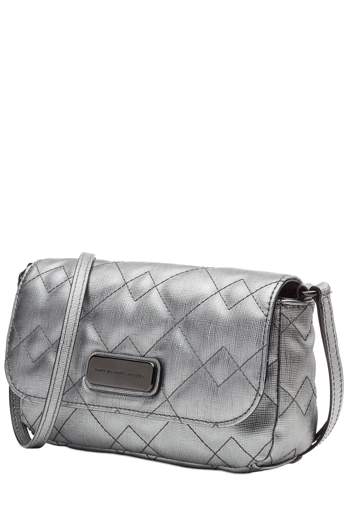 Silver shoulder bag Marc Jacobs TvCyC