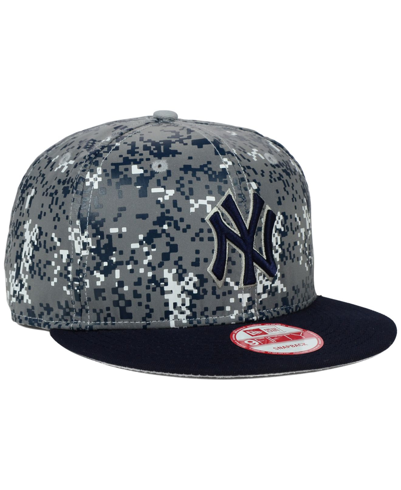 quality design a2683 f0415 KTZ New York Yankees Dc Reflective 9fifty Snapback Cap in Gray for ...