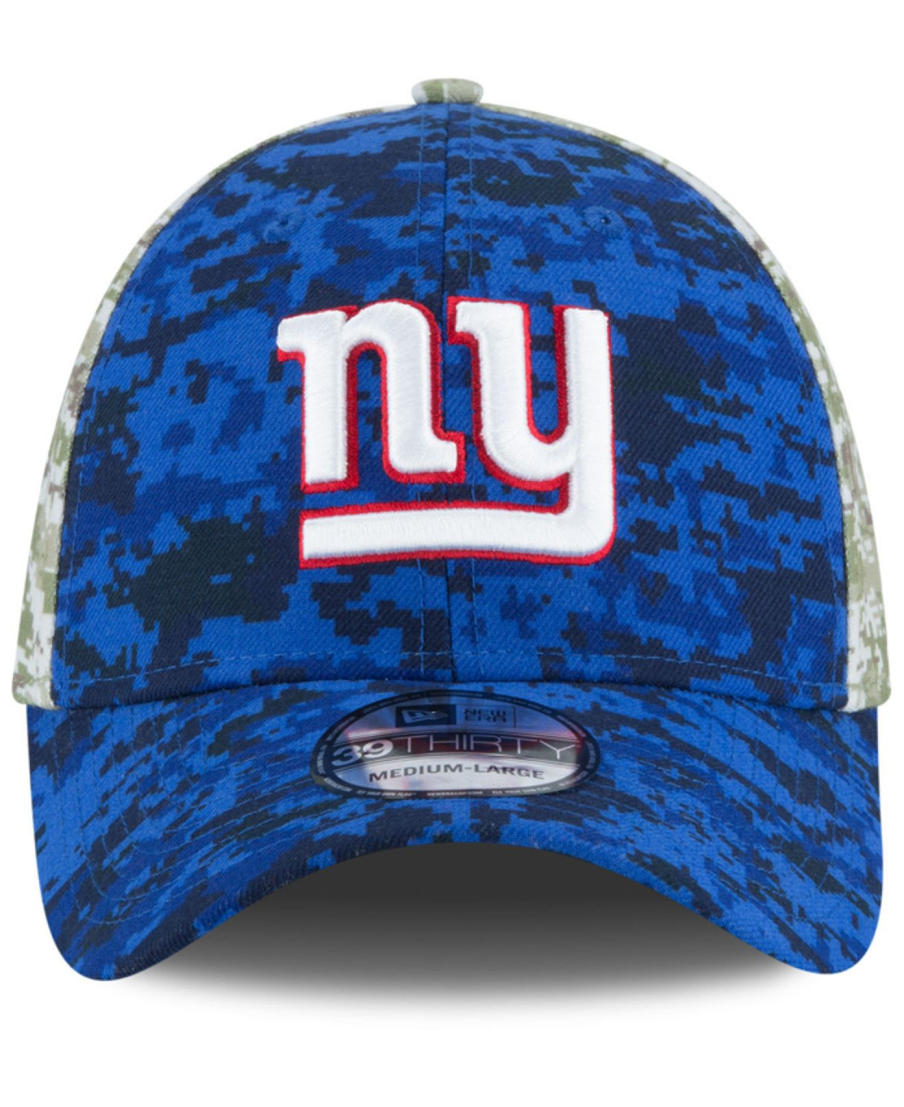 958c887ed76567 KTZ New York Giants Salute To Service 39thirty Cap in Blue for Men ...