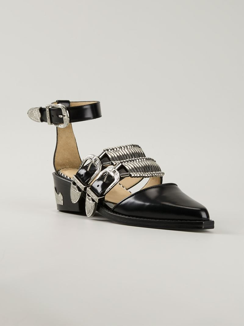 crisscross straps sandals - Black Toga Archives Q9KfMj1TL5