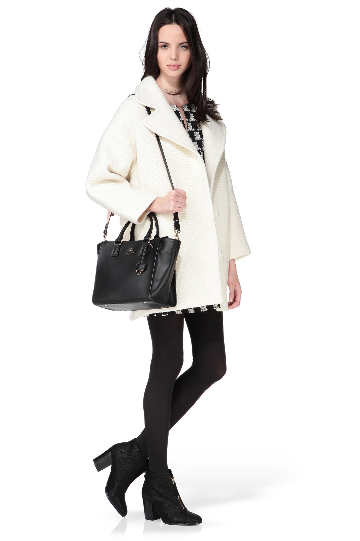 paul joe sister leather bag in black lyst. Black Bedroom Furniture Sets. Home Design Ideas