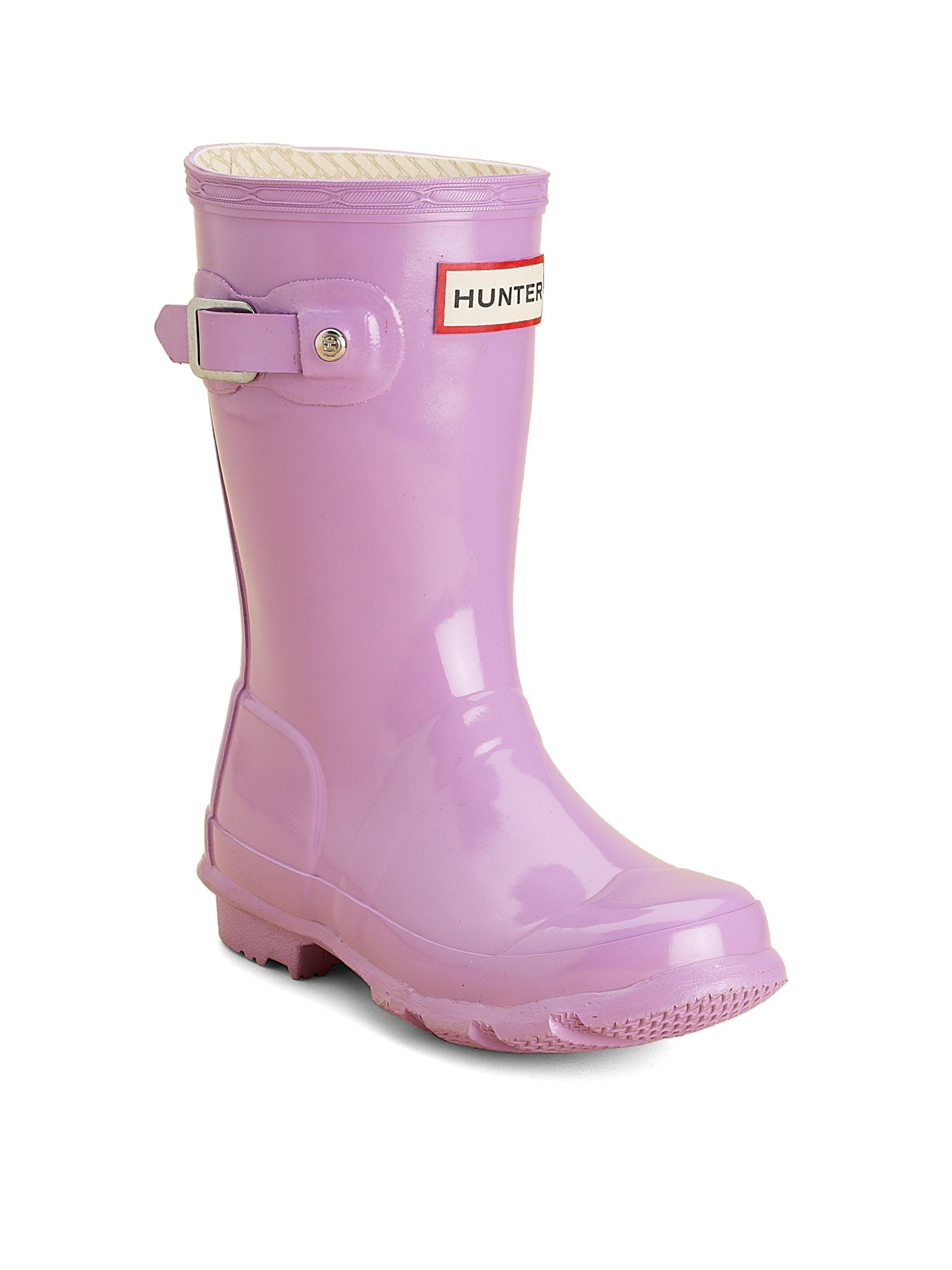 Hunter Kids Original Tall Rain Boots in Purple for Men | Lyst