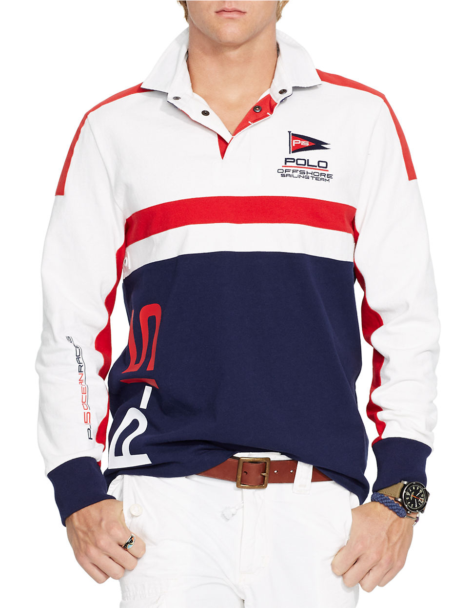 Lyst Polo Ralph Lauren Long Sleeved Sailing Team Rugby