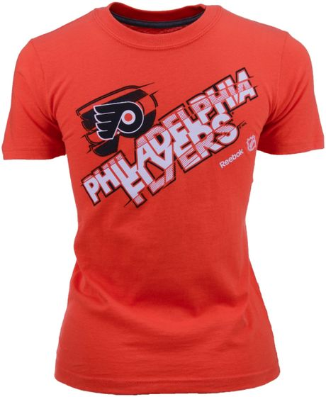 Nike Boys Philadelphia Flyers Tnt Tshirt In Orange For Men