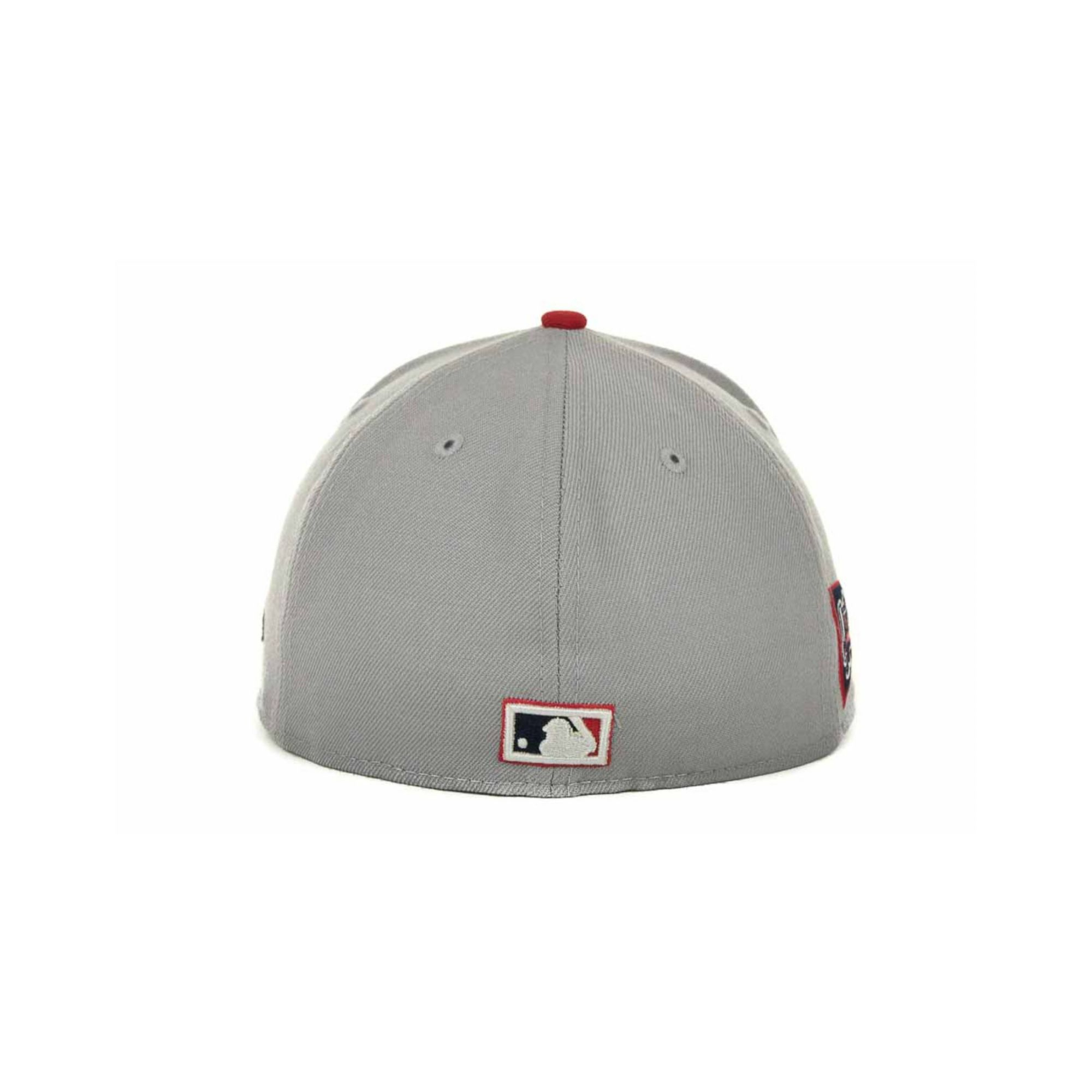 finest selection b2205 4a6a8 ... lyst ktz boston red sox cooperstown patch 59fifty cap in gray for men