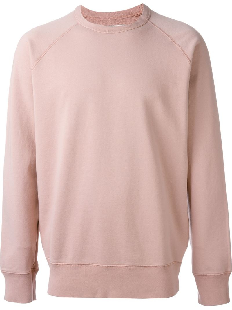Our legacy Crew Neck Sweatshirt in Pink for Men | Lyst