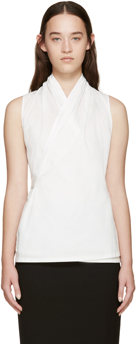 Find great deals on eBay for white wrap blouse. Shop with confidence.