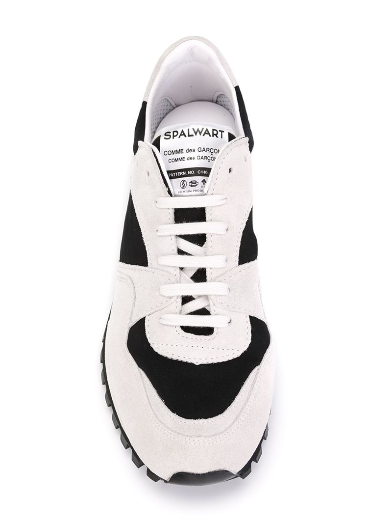 45881aaac91e44 Comme des Garçons Spalwart X Cdg Cdg Panelled Sneakers in Natural - Lyst