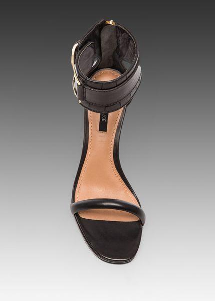Rachel Zoe Melina Heel In Black In Black Lyst