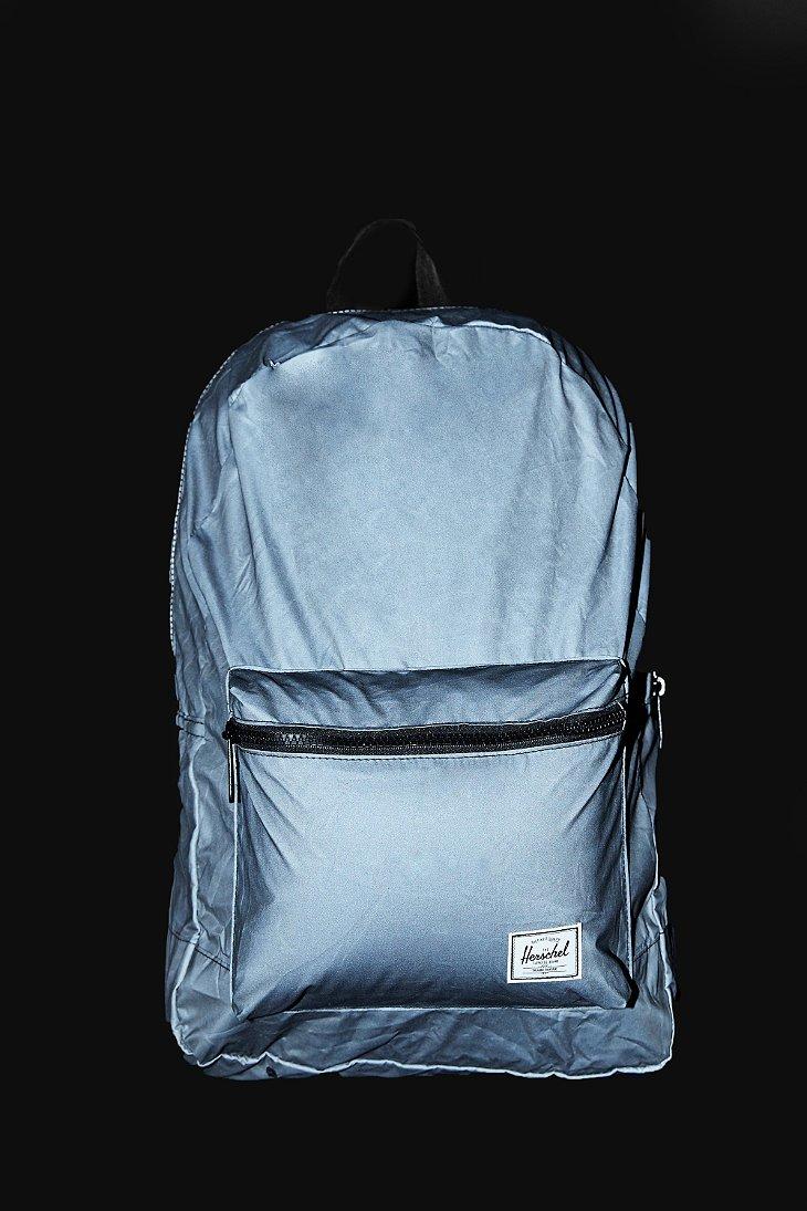 c95df6d9fae Lyst - Herschel Supply Co. 3m Reflective Packable Daypack in Black ...