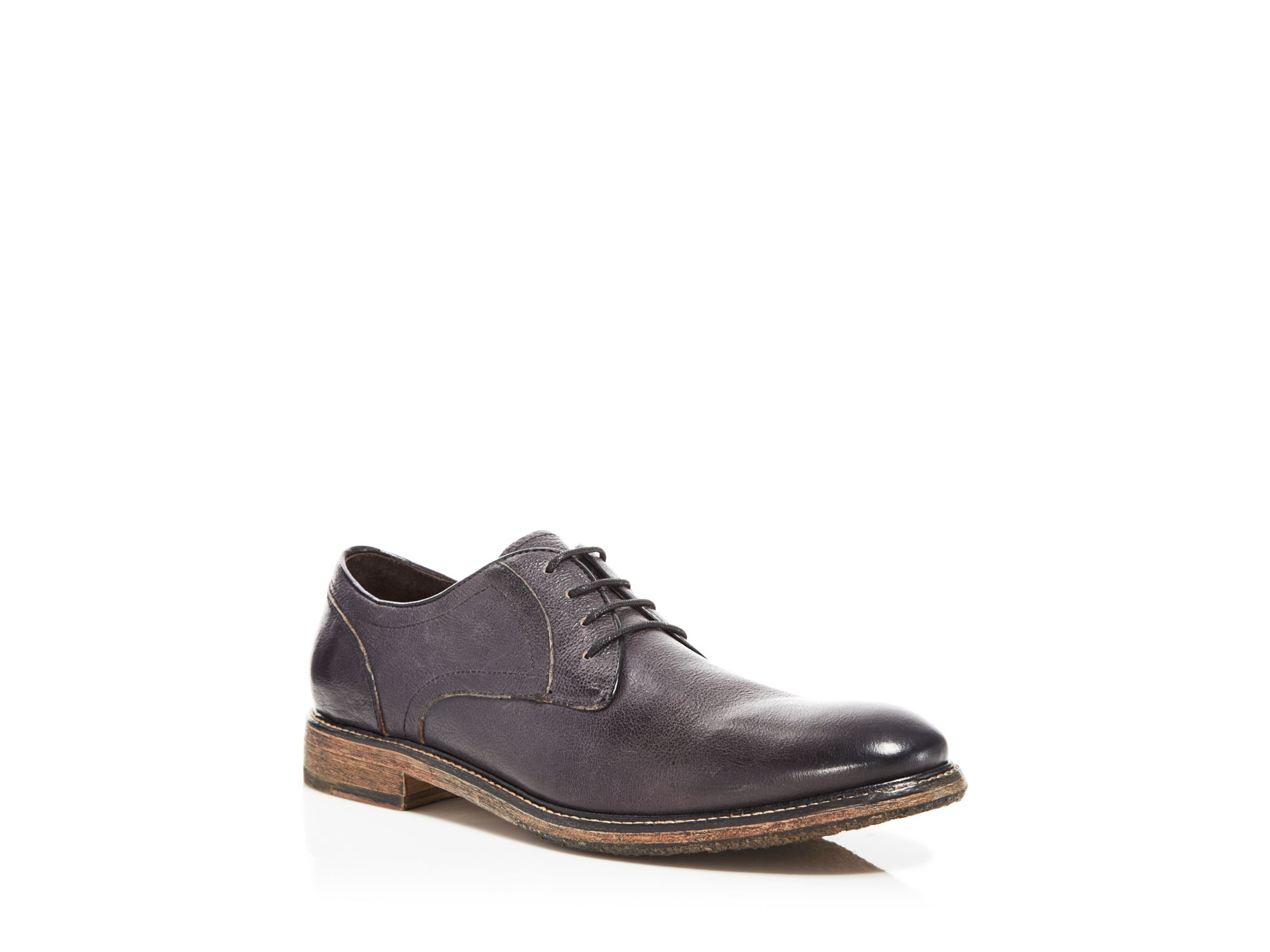 Lyst - John Varvatos Star Usa Sid Crepe Plain Toe Derby Oxfords in ...