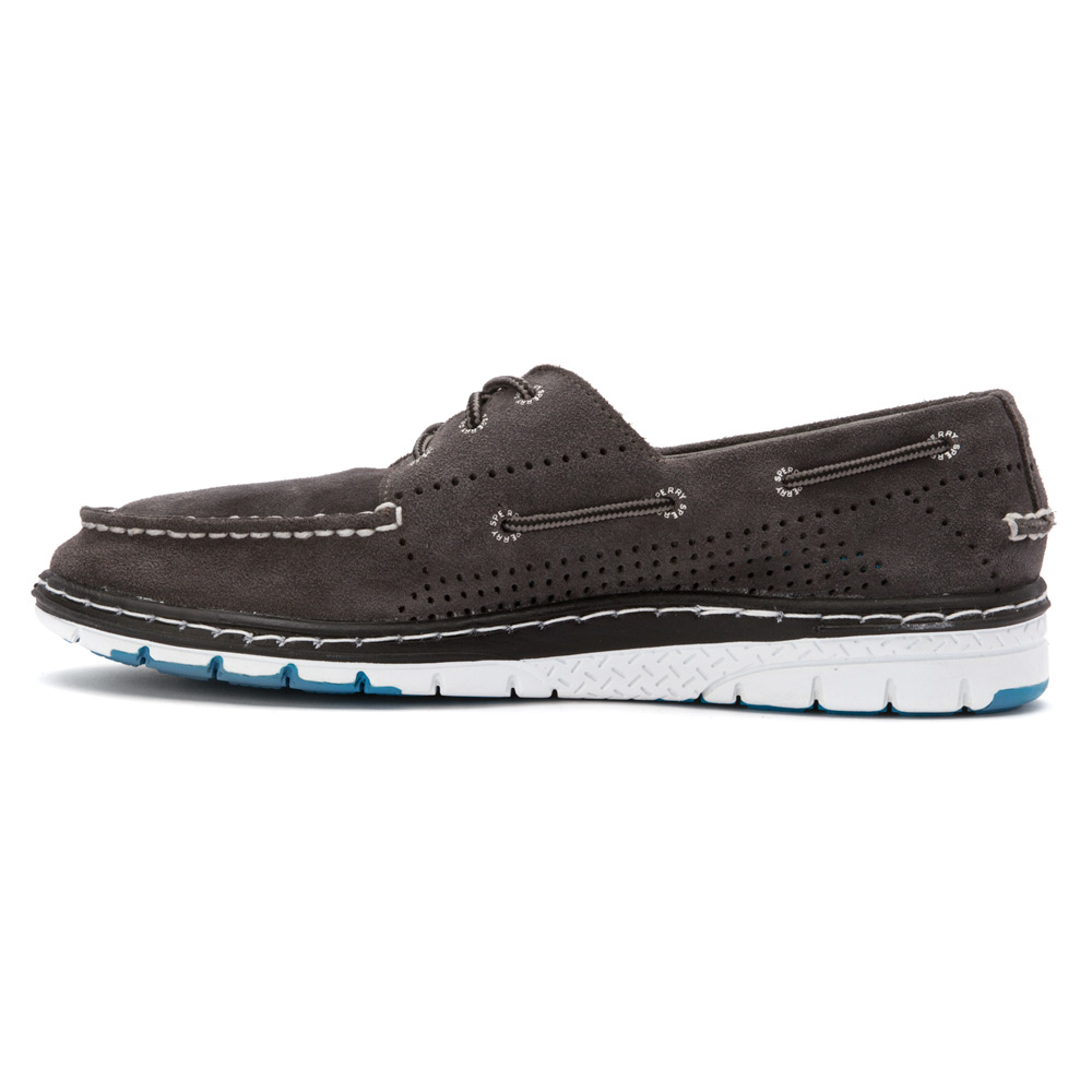 Sperry Top Sider Men S Billfish Ultralite Perforated Suede Boat Shoe