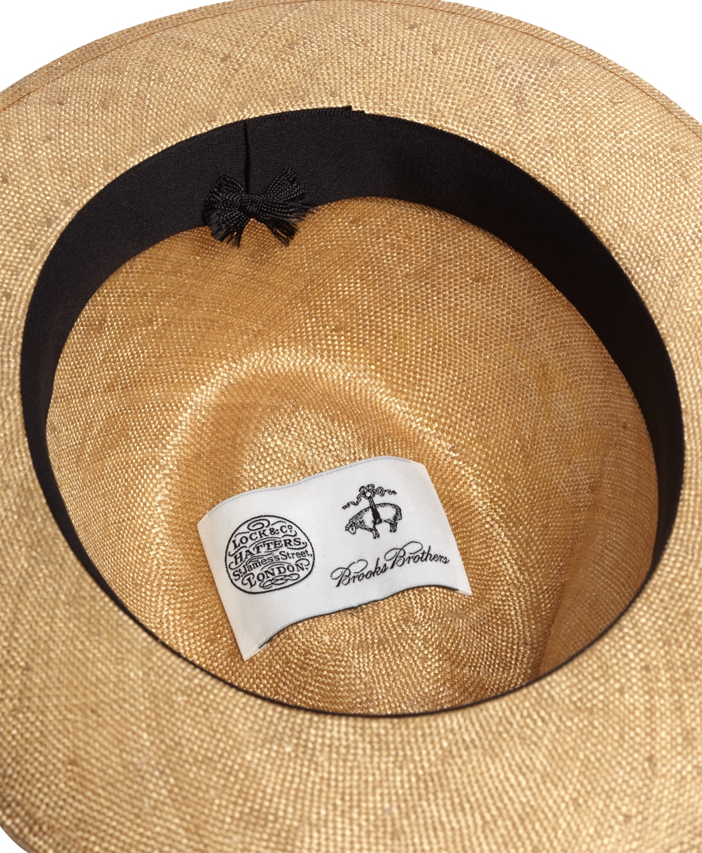 8f4eed65 Brooks Brothers Lock & Co. Napoli Sisal Hat in Natural for Men - Lyst