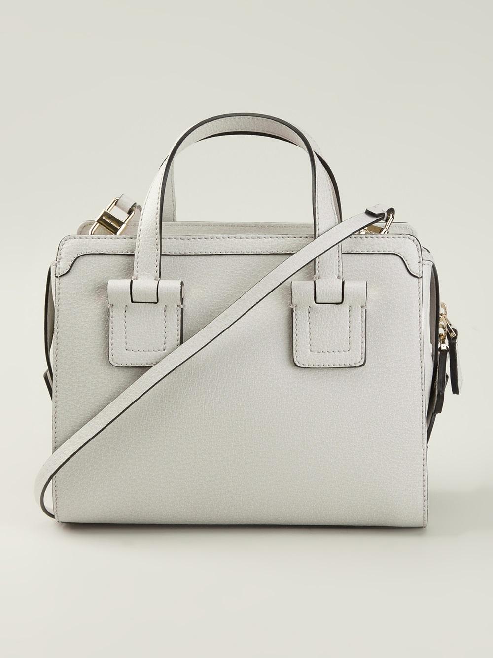 d76ae0aec36ee Lyst - Emporio Armani Mini Bowling Bag in Gray