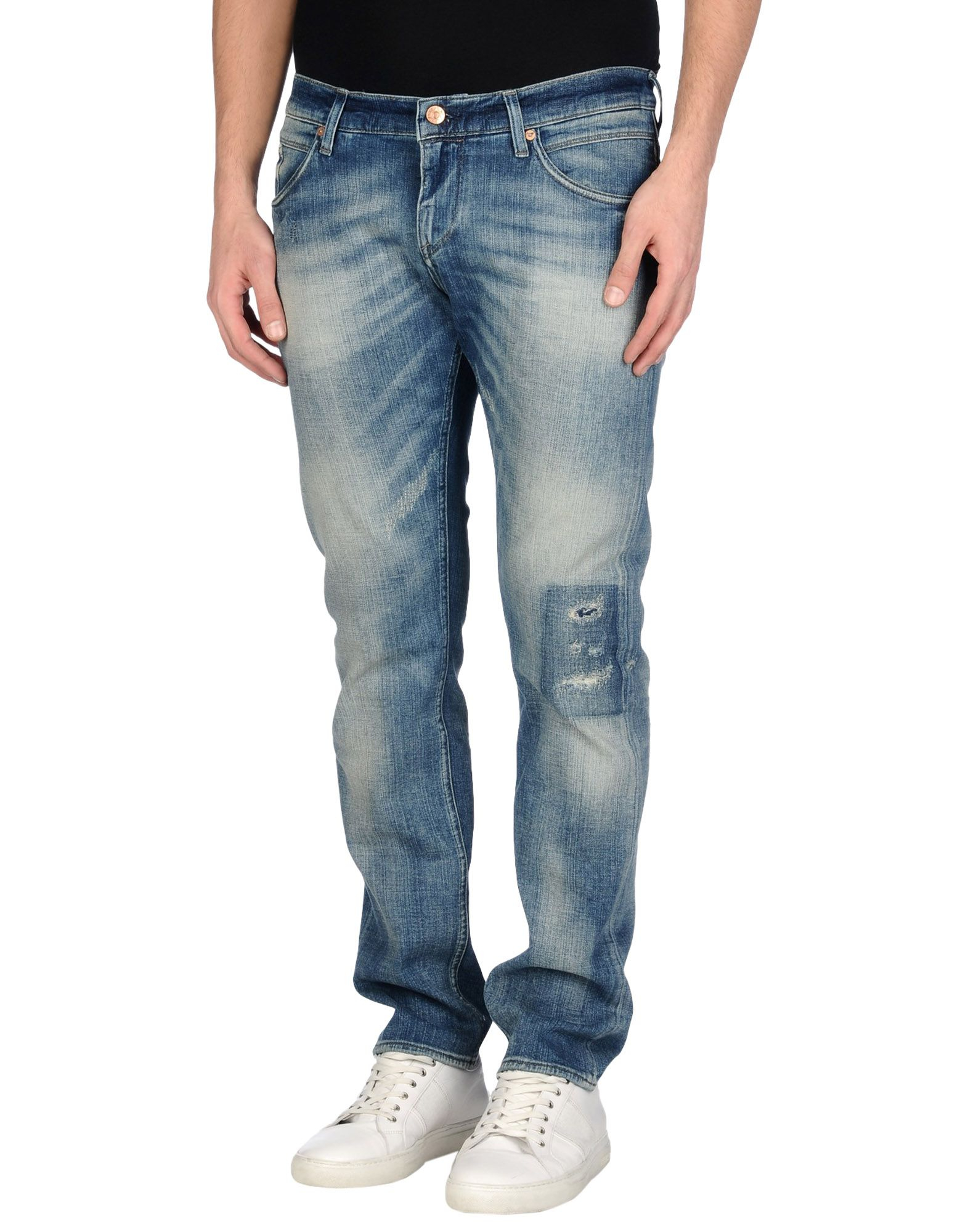 meltin 39 pot denim pants in blue for men lyst