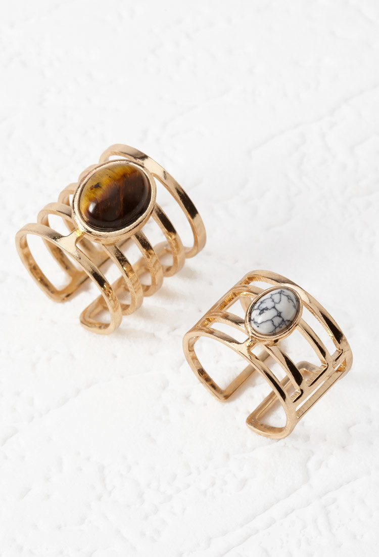 Forever  Faux Stone Ring