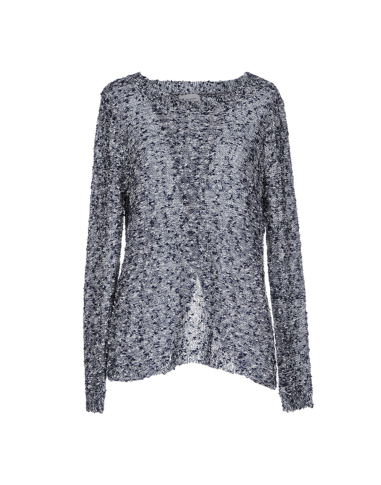 Vero Moda Knitting Patterns : Vero moda sweater in blue lyst