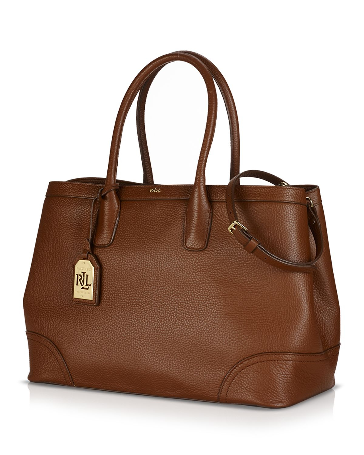 Ralph Lauren Tote Laukku : Lauren by ralph tote fairfield city in brown lyst