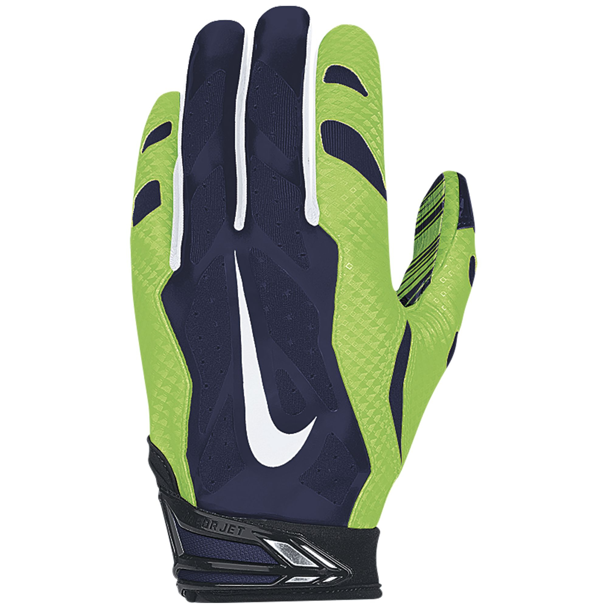 25 30 Seattle: Nike Seattle Seahawks 30 Vapor Jet Gloves In Black