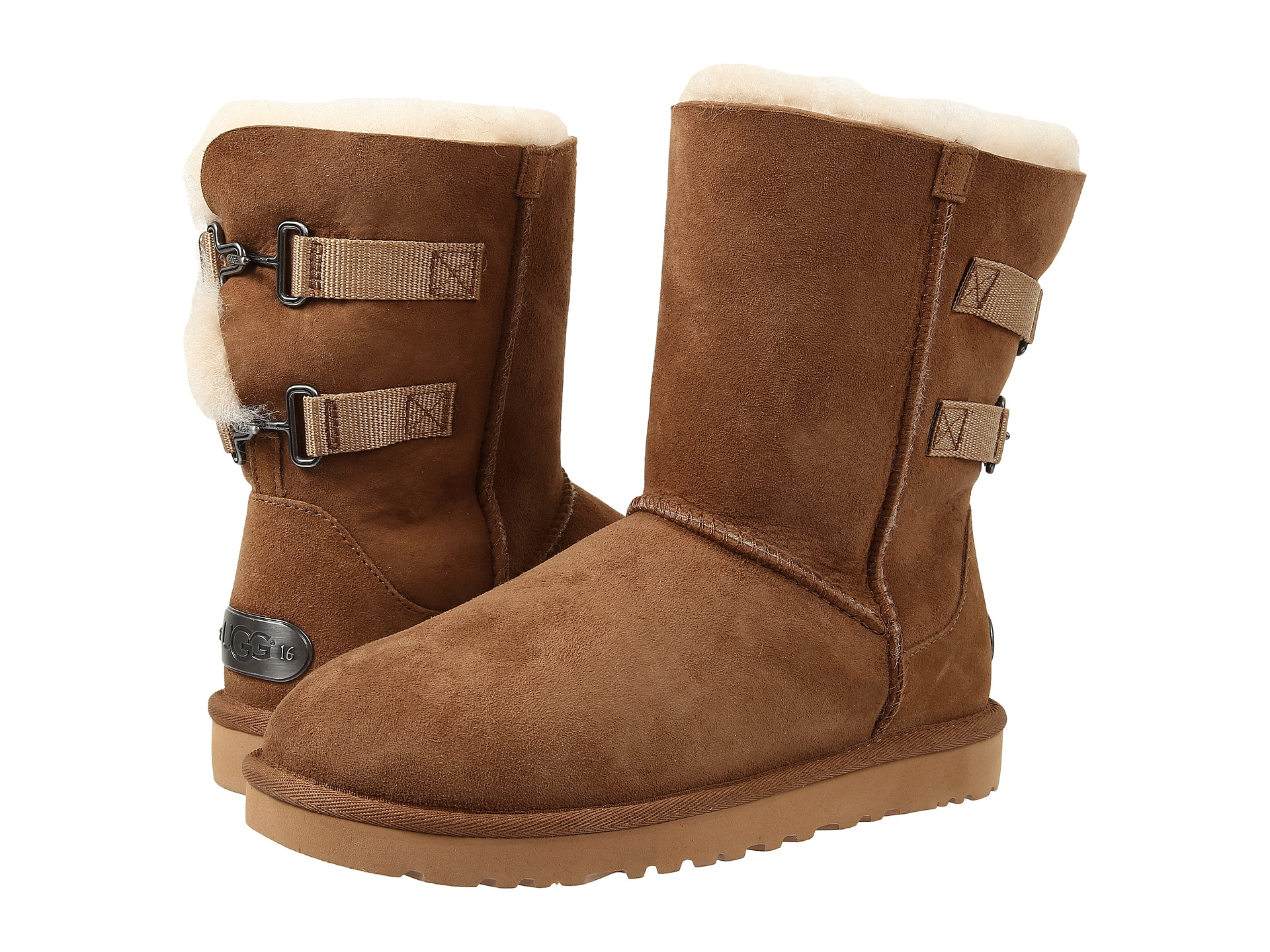 Womens Boots UGG Fairmont Black Twinface