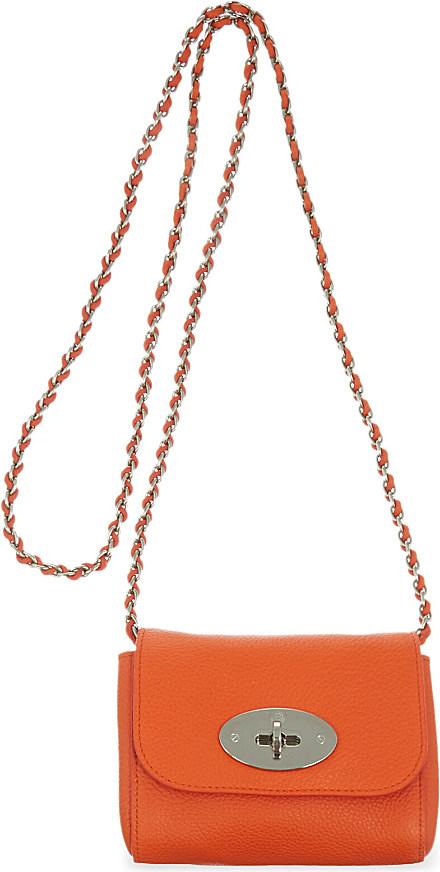 Mulberry Mini Lily Clutch Bag - For Women in Orange - Lyst e087f3dfefb60