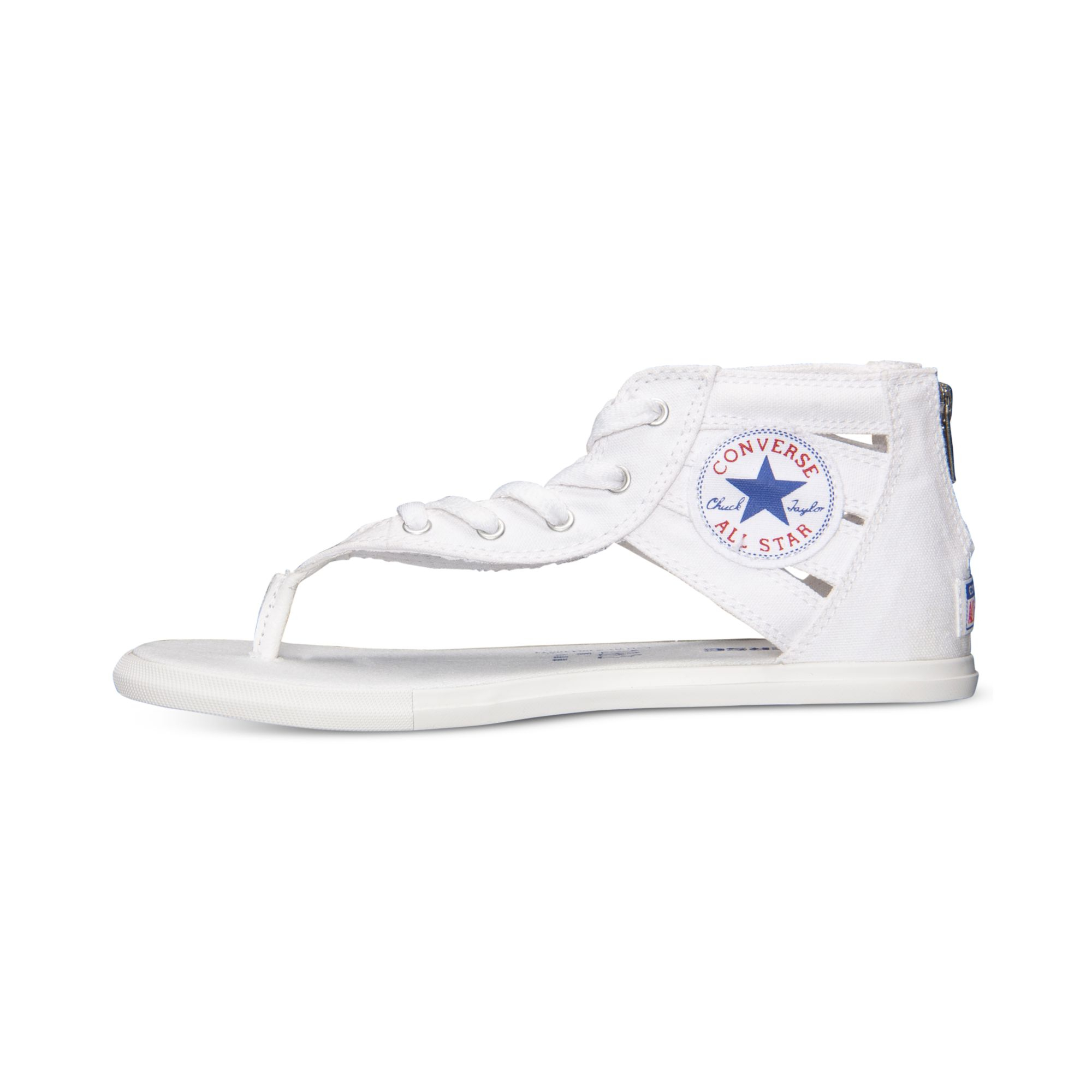 Fantastic Converse Womens Sandals Shoes Chuck Taylor Gladiator White