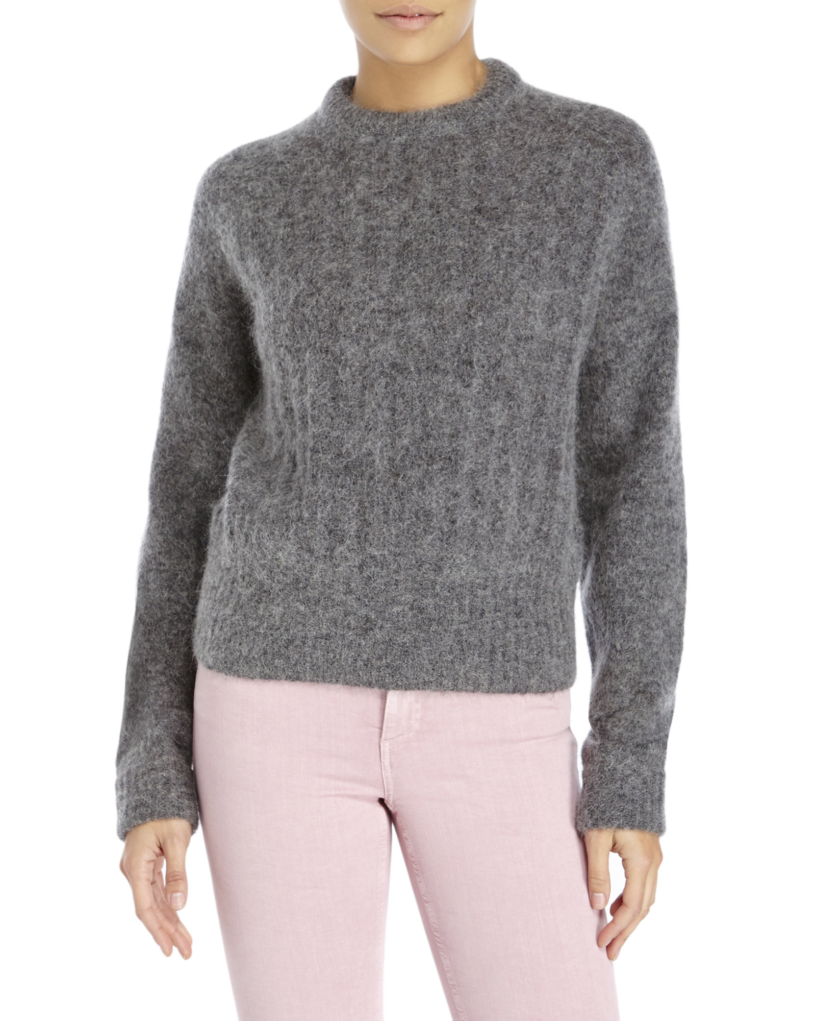 f0981070a6c14 Lyst - Acne Studios Dania Mohair Sweater in Gray
