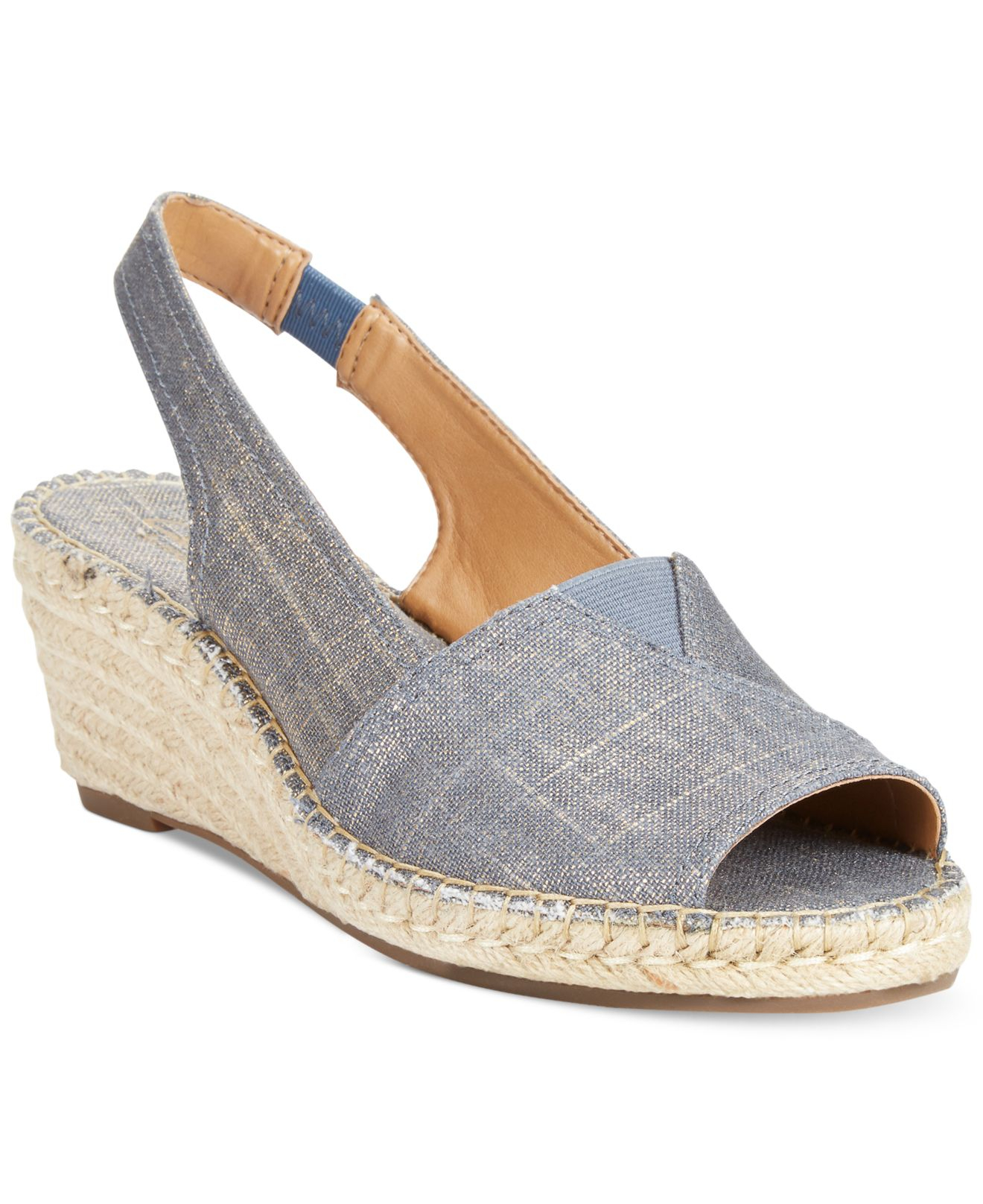 Lyst - Clarks Artisan Women S Petrina Rhea Espadrille Wedge Sandals ...