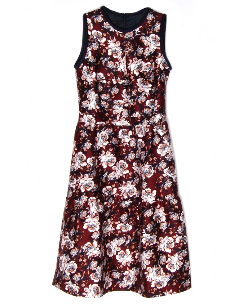 Mother Of Pearl Woman Elzie Ruffled Printed Cotton And Silk-blend Maxi Dress Off-white Size 8 Mother Of Pearl q4M4EHlj