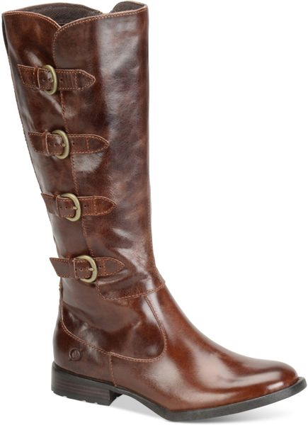born cuatros boots in brown lyst